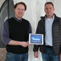 Marwin Altmann und Thomas Poost von Dein Erkelenz